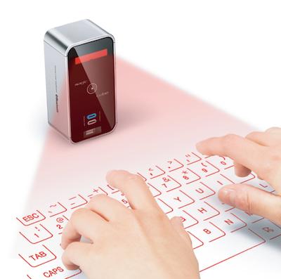 ClavierLAser 007 Concours : Un Clavier Virtuel Laser pour iPhone à gagner (141€)