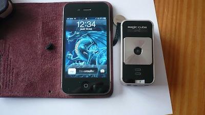 ClavierLAser 020 Concours : Un Clavier Virtuel Laser pour iPhone à gagner (141€)