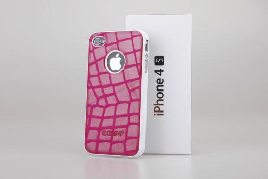 Coque cuir Pop 3 nouvelles coques en cuir véritable pour iPhone 4/4S à découvrir sur App4Shop