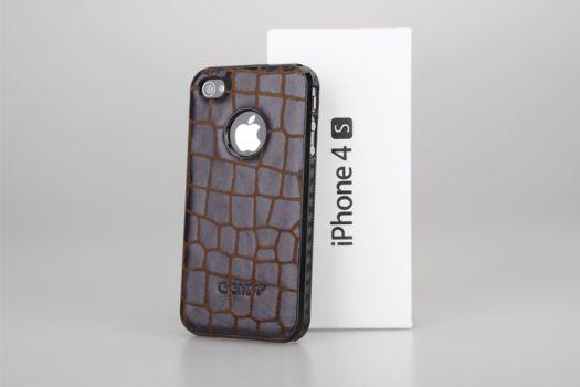 Coque cuir savane 3 nouvelles coques en cuir véritable pour iPhone 4/4S à découvrir sur App4Shop