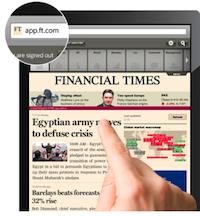 Financiel Times Financial Times :  le futur du net sur iOS
