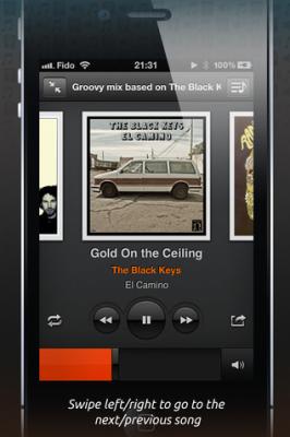 Groove 2 lecteur de musique