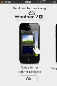 IMG 0696 Test de Weather 2X : Une bien belle météo ! (0,79€)