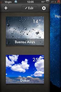IMG 0702 Test de Weather 2X : Une bien belle météo ! (0,79€)
