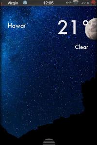 IMG 0703 Test de Weather 2X : Une bien belle météo ! (0,79€)