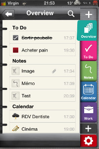 IMG 0804 Test de Plannerd   (To do, Notes and More) : un excellent agenda multifonctions...(2,39€)