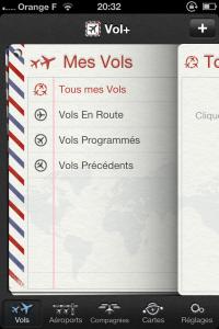 IMG 2060 200x300 Test de Vol+: suivez en direct vos vols dans les aéroports du monde entier (2,39€)