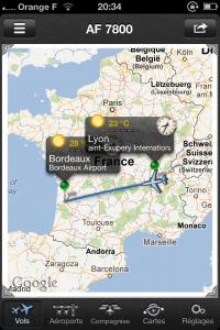 IMG 2062 200x300 Test de Vol+: suivez en direct vos vols dans les aéroports du monde entier (2,39€)
