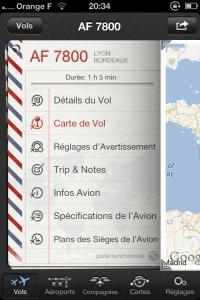 IMG 2063 200x300 Test de Vol+: suivez en direct vos vols dans les aéroports du monde entier (2,39€)