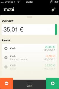IMG 2097 200x300 Test de Moni: le compagnon de vos dépenses (0,79€)