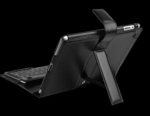 KeyBoard ipad3 300x233 Test du Keyboard Folio (125€) pour iPad : un clavier physique Bluetooth de luxe