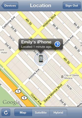 Localiser mon iPhone1 Les App4Tops de la semaine 19 : nos coups de coeur