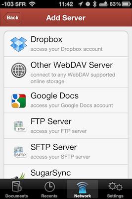 TestPDFExpertiPhon 002 Test de PDF Expert   Gestion, et lecture des PDF sur votre iPhone !