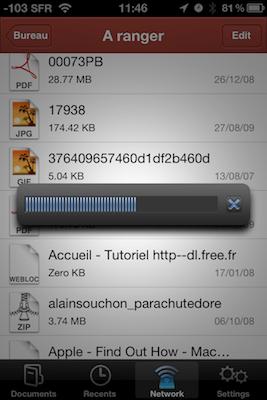 TestPDFExpertiPhon 007 Test de PDF Expert   Gestion, et lecture des PDF sur votre iPhone !