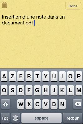 TestPDFExpertiPhon 033 Test de PDF Expert   Gestion, et lecture des PDF sur votre iPhone !