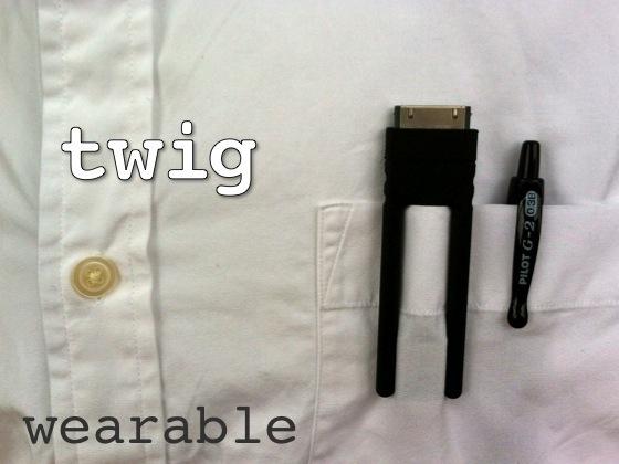 Twig chemise Twig : Un câble de recharge innovant pour votre iPhone !