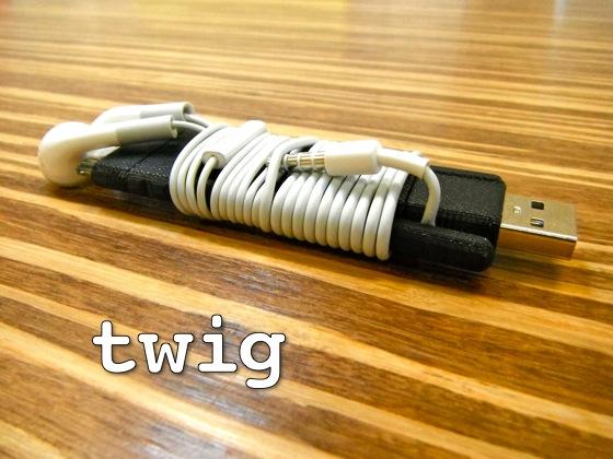 Twig earbud Twig : Un câble de recharge innovant pour votre iPhone !