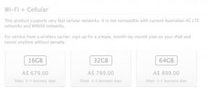Wifi + cellular 4G 300x130 Apple modifie le nom du nouvel iPad WiFi + 4G LTE