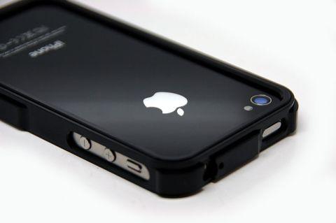 black De nouveaux Bumpers Aluminium pour iPhone 4/4S à découvrir sur App4Shop !