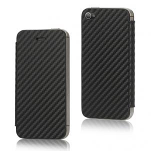 carbone Nouveauté App4Shop : Les façades arrières à clapet pour iPhone 4 et 4S !