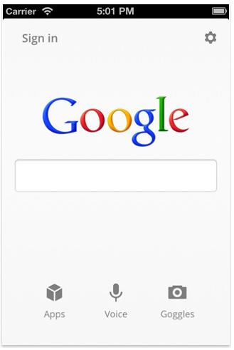 google2 L'application iPhone Google Search entièrement revisitée avec la version 2.0