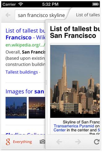 google3 L'application iPhone Google Search entièrement revisitée avec la version 2.0