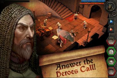 heroes 1 Heroes Call (Gratuit) : Le nouveau jeu de rôle, par les développeurs de Ski Safari