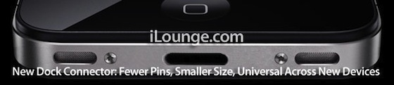 iPhone 5 Dock Les rumeurs de la semaine : iPhone 5, LiquidMetal, iTV
