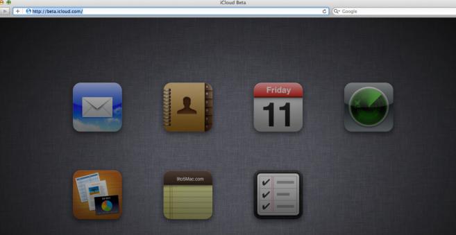 icloudbeta iCloud Beta révèle les applications Notes et Rappels pour le web