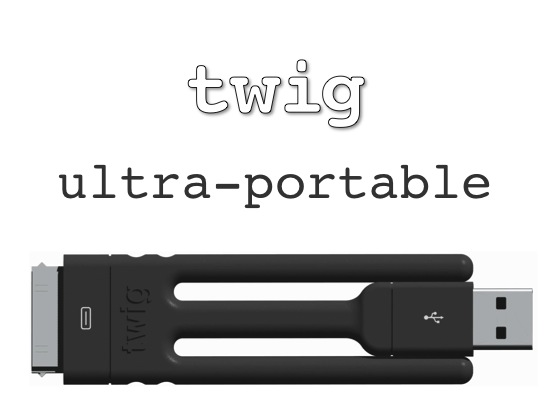 twig presa Twig : Un câble de recharge innovant pour votre iPhone !