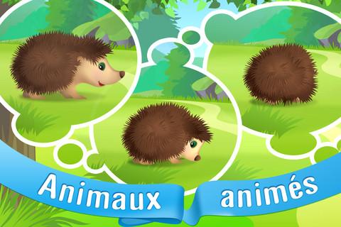 Animaux 2 Lapplication Les animaux pour les petits est gratuite en partenariat avec App4Phone