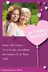 Appygraph 200x300 Dossier : des applications pour penser à votre maman, le jour de sa fête !