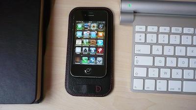 CcrsCalypsoPad 008 Concours : Un CalypsoPad à gagner   Le support en cuir pour votre iPhone (35€)