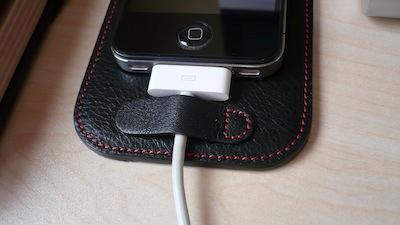 CcrsCalypsoPad 011 Concours : Un CalypsoPad à gagner   Le support en cuir pour votre iPhone (35€)