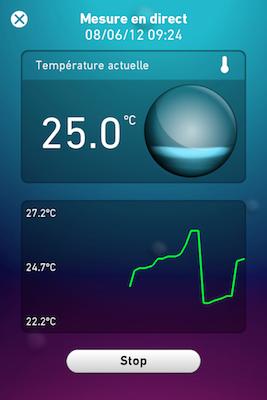 CcrsThermoDock 016 Concours  : Un ThermoDock à gagner, votre iPhone se transforme en thermomètre (79€)