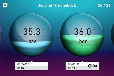 CcrsThermoDock 020 Concours  : Un ThermoDock à gagner, votre iPhone se transforme en thermomètre (79€)