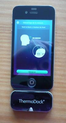 CcrsThermoDock 025 Concours  : Un ThermoDock à gagner, votre iPhone se transforme en thermomètre (79€)