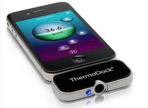 CcrsThermoDock 026 Concours  : Un ThermoDock à gagner, votre iPhone se transforme en thermomètre (79€)