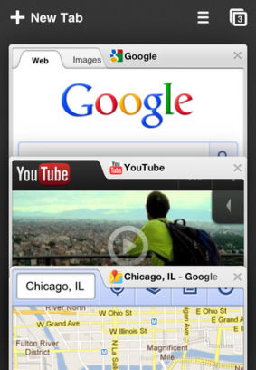 Chrome image Google Chrome enfin disponible sur iOS
