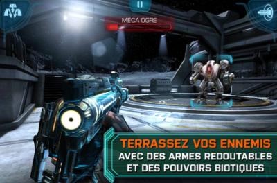 EA Mass Effect Infiltrator Jeux EA: Les promotions de Noël débutent aujourdhui!
