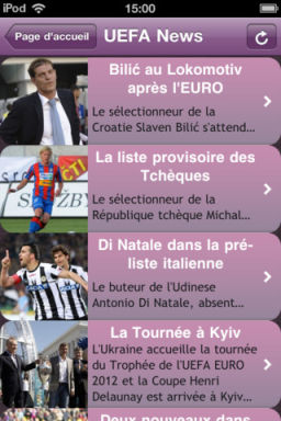 Euro 2012 2 Euro 2012 : Un guide gratuit des calendriers et des résultats