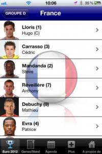 Euro 2012 Les blues 200x300 Dossier : les applications pour suivre lEuro 2012 de football