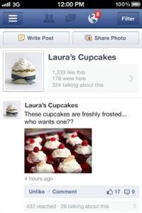 Facebook Page gestion 200x300 Facebook et son application de gestion de pages !