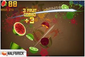 Fruit Ninja Fruit Ninja pour iPhone et iPad est gratuit exceptionnellement !