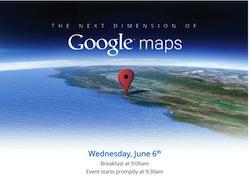 Google Maps Invit Un nouveau Google Maps pour contrer Apple !