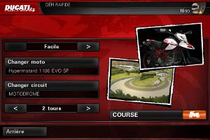 IMG 0854 Ducati Challenge : Une très bonne simulation de courses de motos...(1,59€)