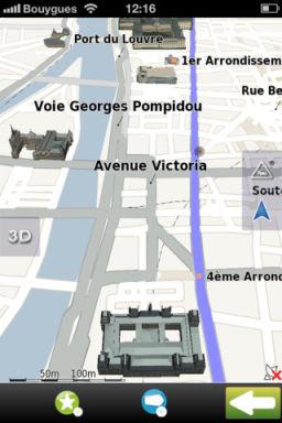 Mappy GPS 4 Mappy GPS V2 : Un GPS gratuit de qualité pour iPhone !