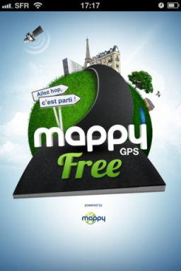 Mappy GPs 2 Mappy GPS V2 : Un GPS gratuit de qualité pour iPhone !