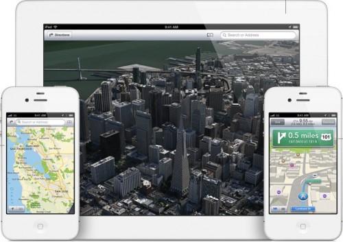 Maps iOS6 500x353 Récap Keynote : Tout savoir sur le nouvel iOS6 !