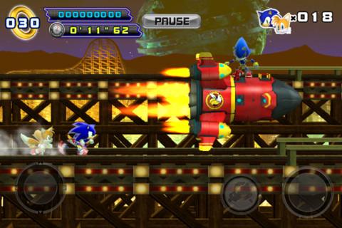 Metal sonic 1 Sonic 4 épisode 2 possède aussi sa version gratuite !
